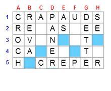 Mots crois s jeux de lettres gratuits sur ouest france - Jeux de mots coupes gratuits en ligne ...
