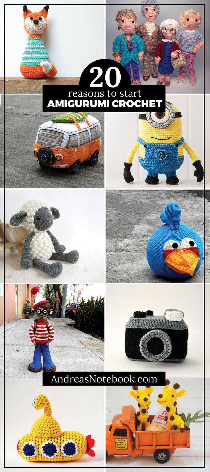 20+amigurumi+crochet+patterns+you'll+want