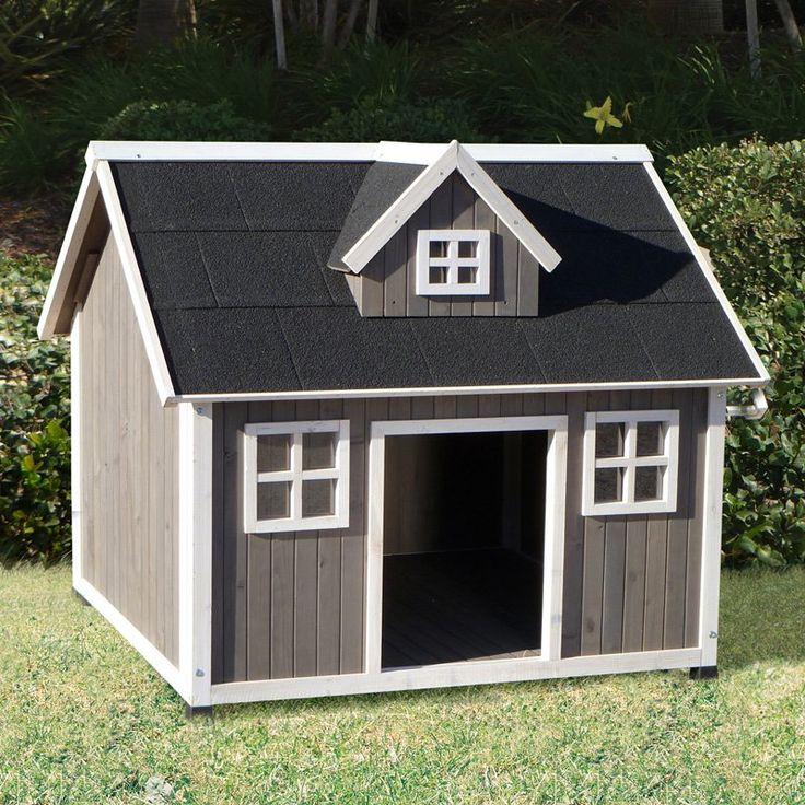 Images Of Wooden Dog Houses