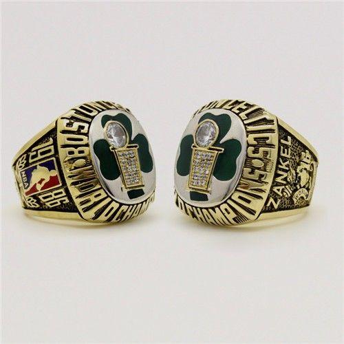 Custom 1986 Boston Celtics Basketball World Championship Ring - Basketball