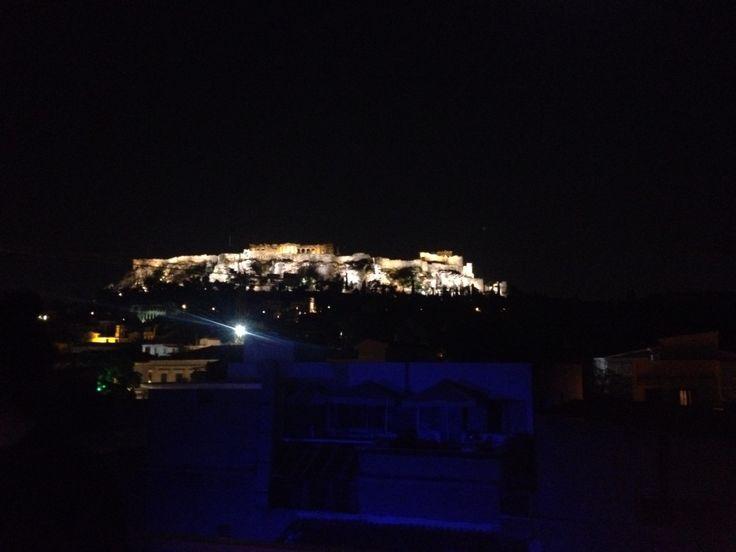 Acropolis Athens Nightlife