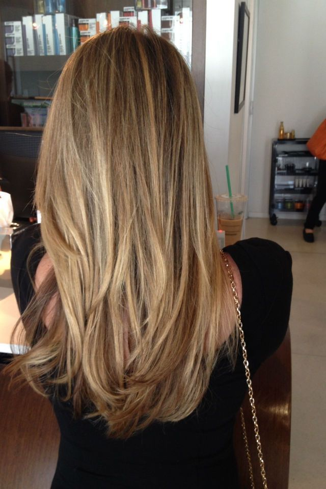 36 Blonde Balayage With Caramel Honey Copper Highlights