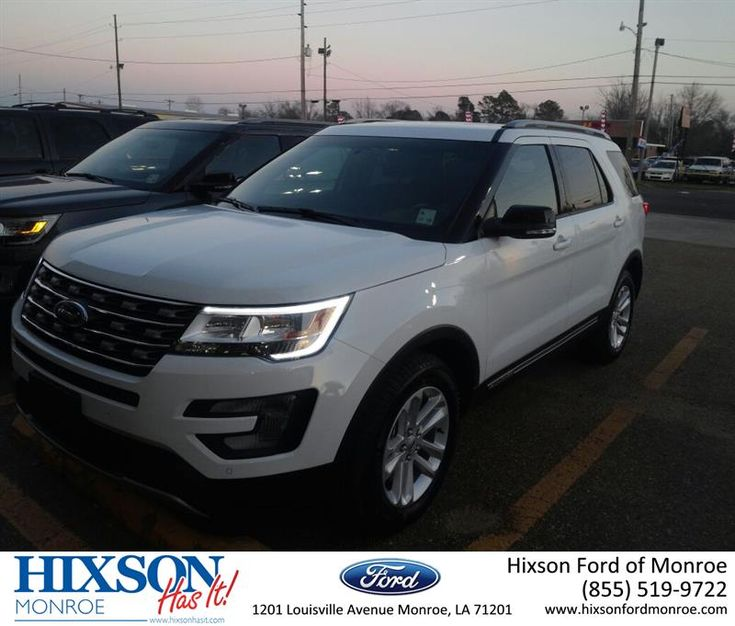 Happy Anniversary to April on your #Ford #Explorer from Scott Turner at Hixson Ford of Monroe!  https://deliverymaxx.com/DealerReviews.aspx?DealerCode=M553  #Anniversary #HixsonFordofMonroe
