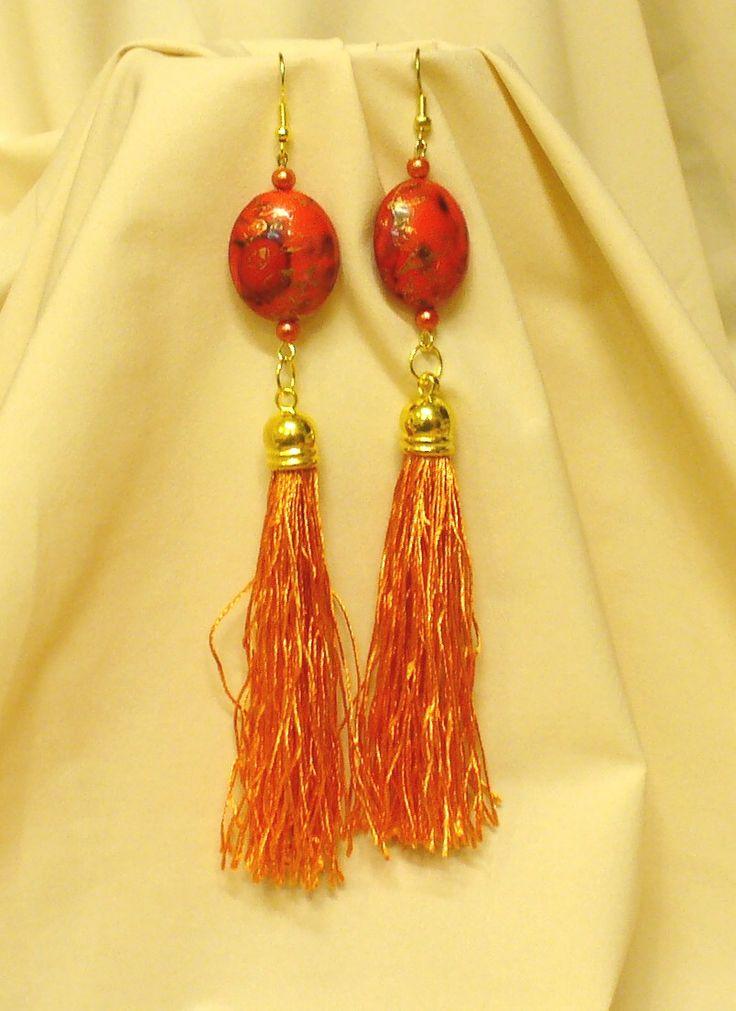 Kócos rojtok, különleges gyöngyök * Shaggy fringe, special beads
