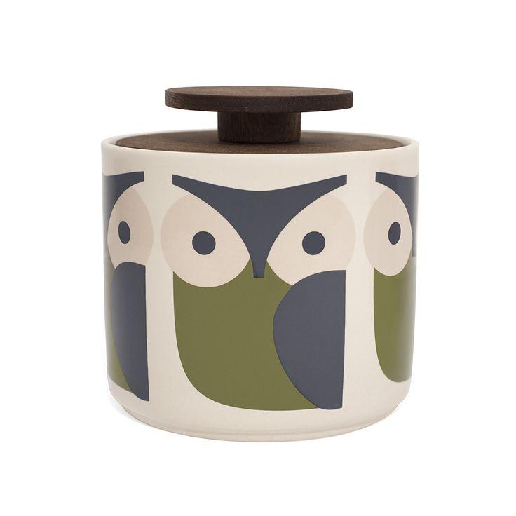 Orla Kiely - Storage Jar - 1L - Owl