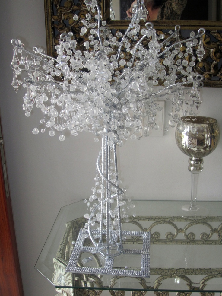 This Is Hire Only Crystal Tree Centrepiece Awesome Can Be Used For Lolly Buffet Decoration Baby Shower Wedding Cake Table