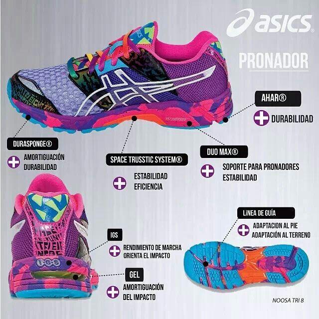 zapatos asics para pronadores