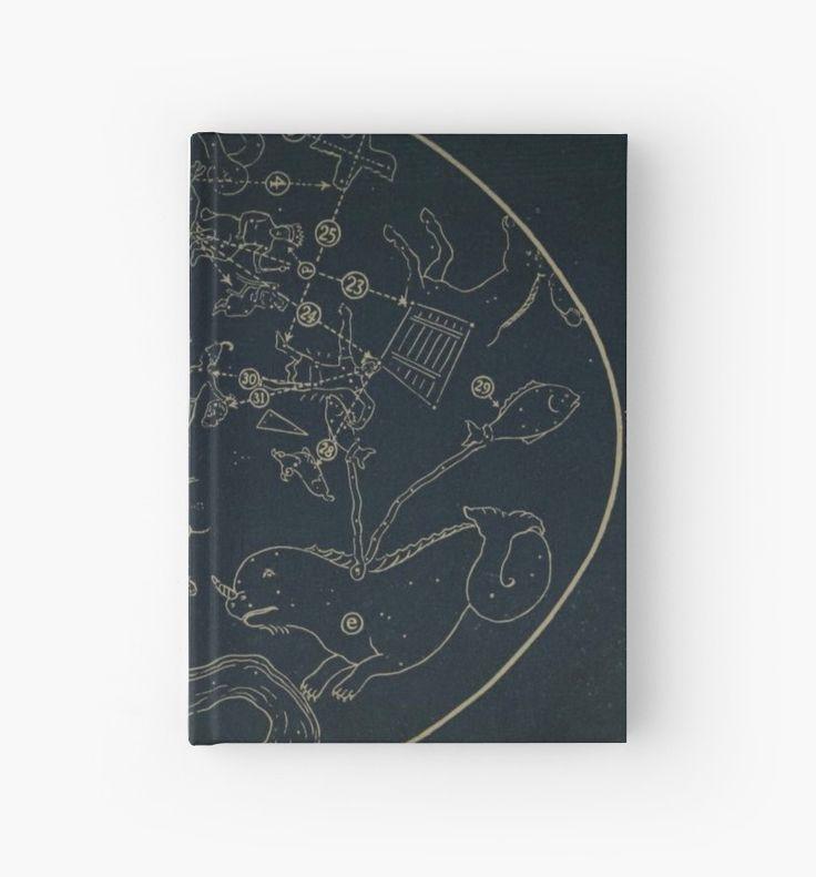 Winter Constellations Journal by bluespecsstudio + redbubble