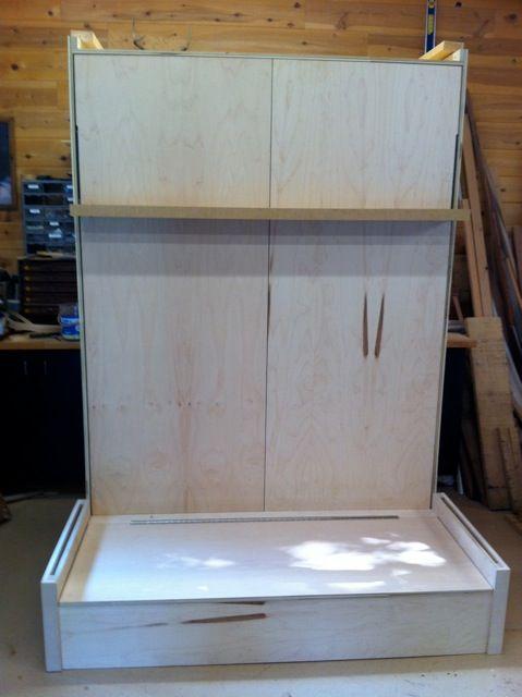 best 20 diy murphy bed ideas on pinterest. Black Bedroom Furniture Sets. Home Design Ideas