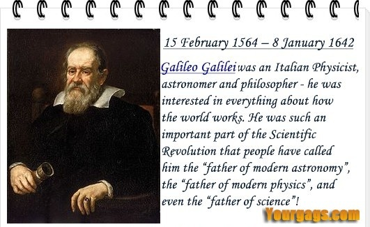 happy birthday galileo galilei physics astronomy galileo hb birthday best quotes. Black Bedroom Furniture Sets. Home Design Ideas