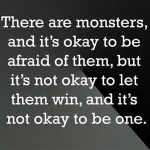 criminal minds quote about monsters