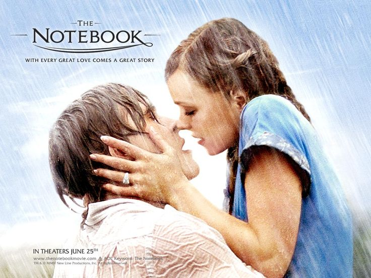 The Notebook. I wish this actually happened in real life. Hmph.