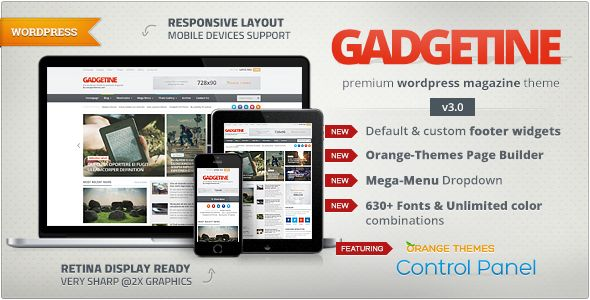 Gadgetine is premium blog magazine theme that will also work well for a serious news portal.so free download it and enjoy.
