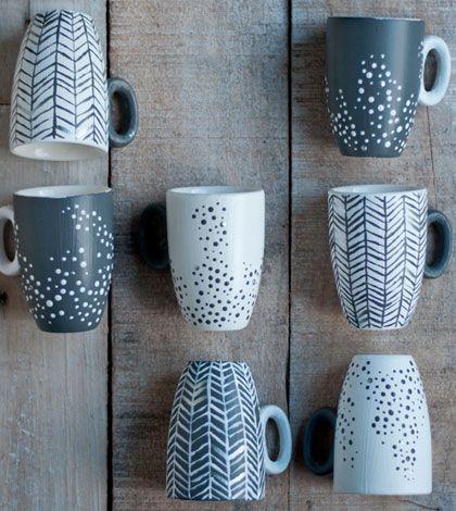Ručně malovaný hrnek – nejen skvělý tip na dárek!...painted mugs