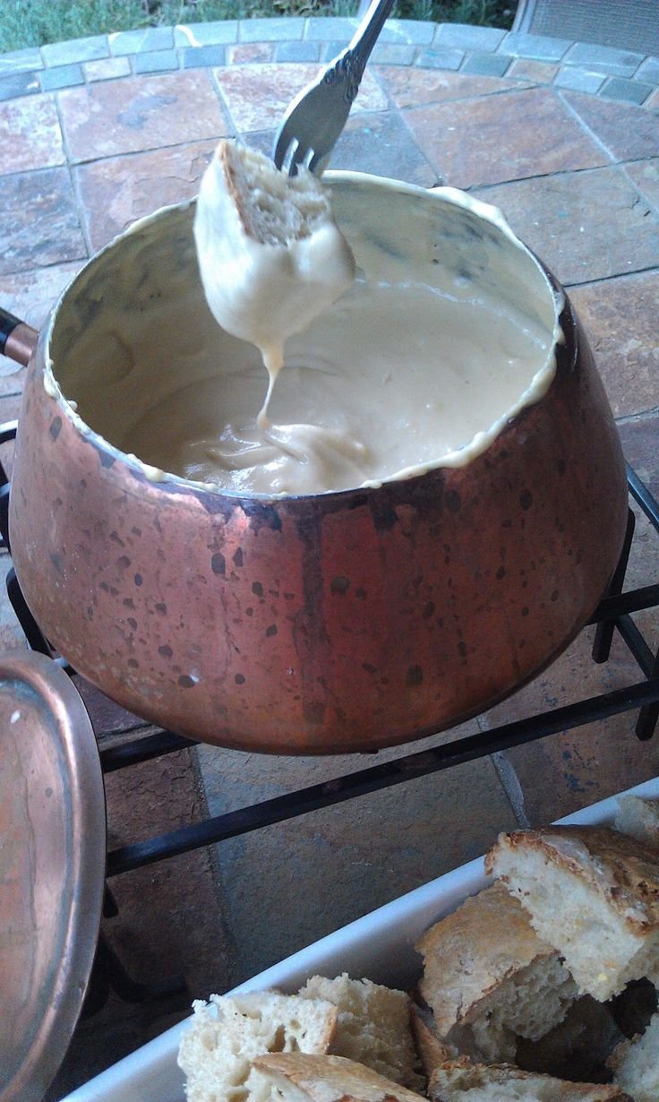Fondue: The Ultimate Cheese Sauce - Artisan Vegan Life  Acne Safe Fondue. Looks amazing.  Can't wait to try this! If you do, please let us know.  Acne Safe Products by Studio Blu