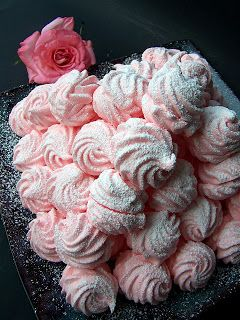 "Lea's Cooking: Raspberry Marshmallow ""Zefir"" (Зефир)  {Gluten Free Dessert}  Easy to make with no baking involved:)"