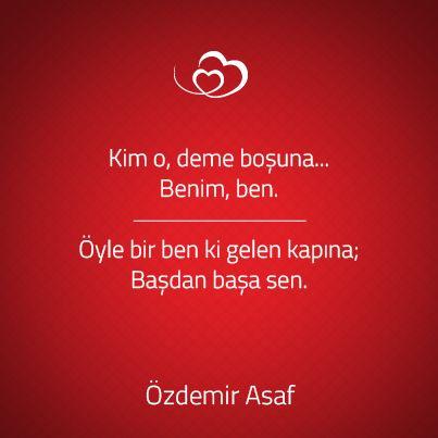 Özdemir Asaf'tan aşkı anlatan en güzel sözler...