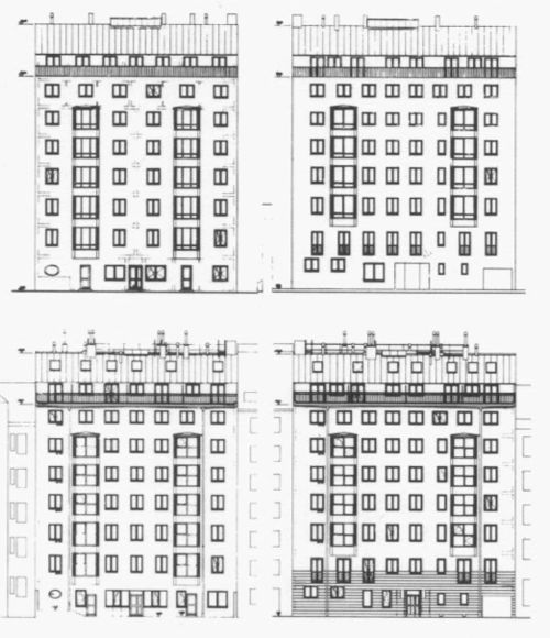 Architectural Drawings, Models, Photos, etc... — Hermann Czech - Wohnhaus Petrusgasse, Wien