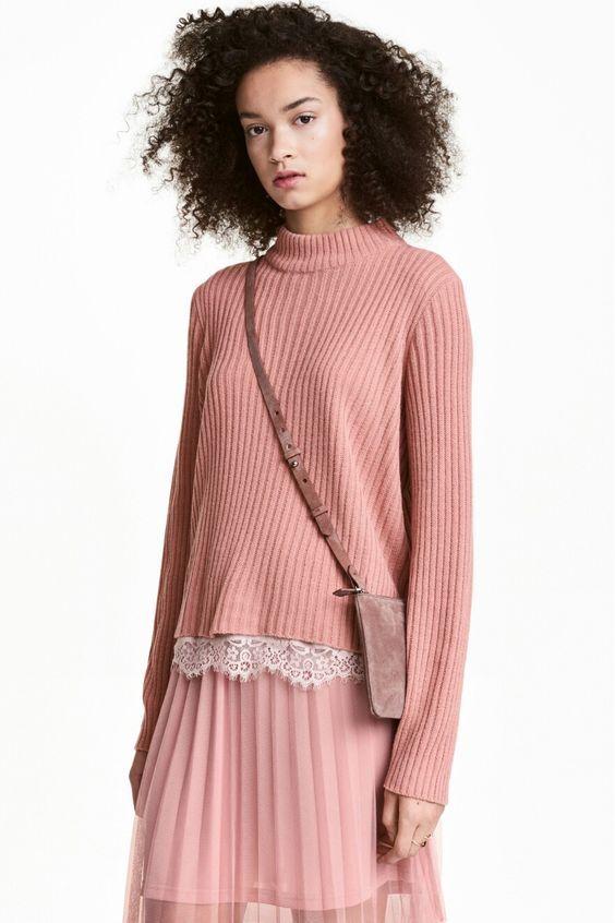Kışın Toz Pembe Renk Nasıl Giyilir, Nasıl Kombinlenir?,
