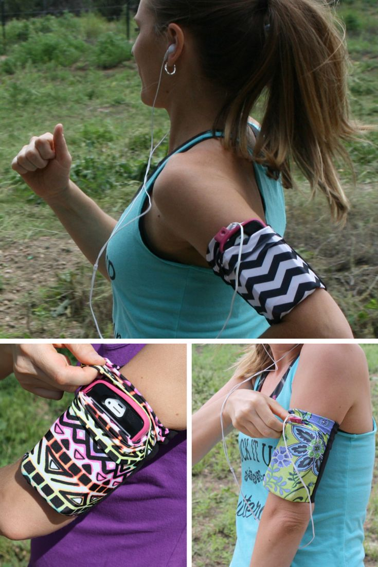 Speedzter Cell Phone Arm Bands are perfect for carrying your cell phone including iPhone, iPod, gels, cash, and keys for hands free jogging and running.