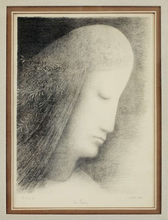 Jan Zrzavy - Winning Head Angel, 1973