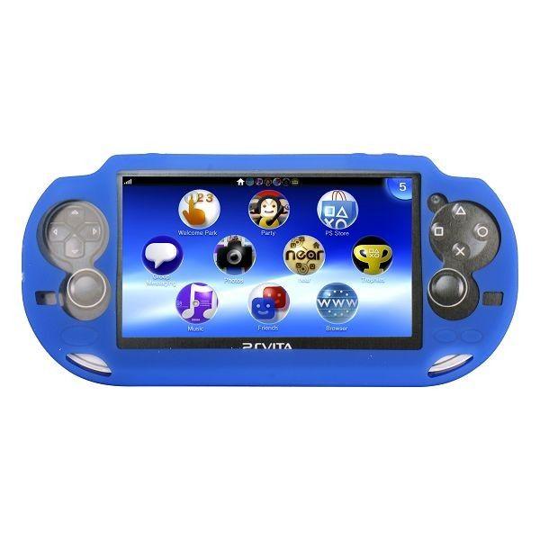 Soft Shell (Sininen) Sony PlayStation Vita Silikonisuojus