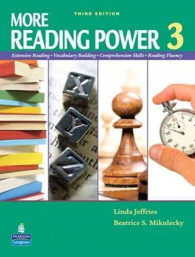 More Reading Power 3: Extensive Reading, Vocabulary Building, Comprehensive Skills, Reading Fluency