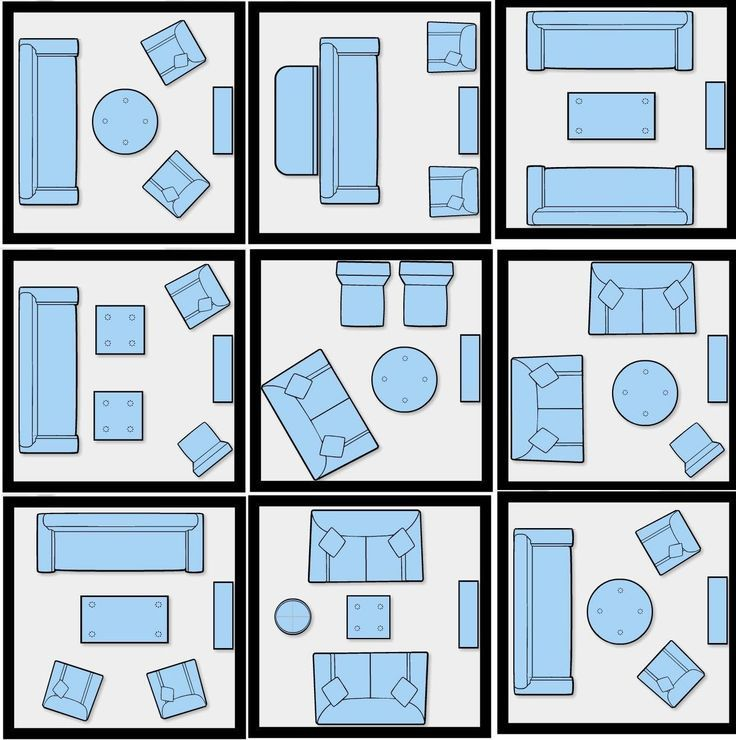 Furniture Arranging Tricks And Diagrams