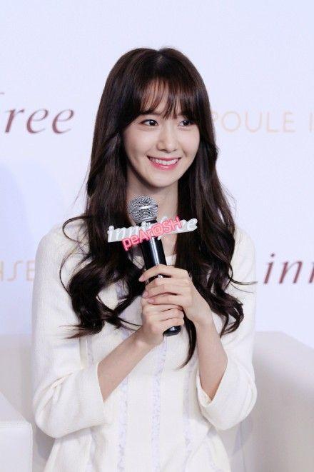 #Yoona #윤아 #ユナ #SNSD #少女時代 #소녀시대 #GirlsGeneration 150115 Innisfree Shanghai IFC Opening