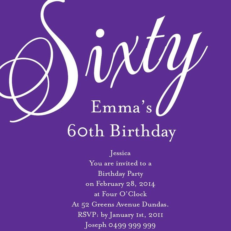 200 best 60th Birthday Ideas images on Pinterest Parties