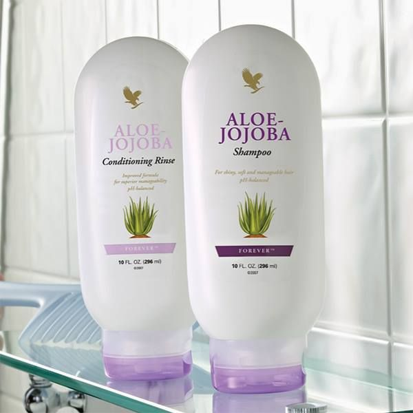 With our shampoo get beautifully shiny and easy-to-manage hair with this aloe vera and jojoba oil-infused shampoo. The gentle pH-balanced formula is suitable for all hair types and can be used to help replenish your hair's natural moisture.  https://www.foreverliving.com/retail/shop/shopping.do?itemCode=260&task=viewProductDetail  Our conditioner contains jojoba and vitamin B to help nourish, protect and strengthen the hair, this pH-balanced conditioner gives hair a silky, salon-look finish…
