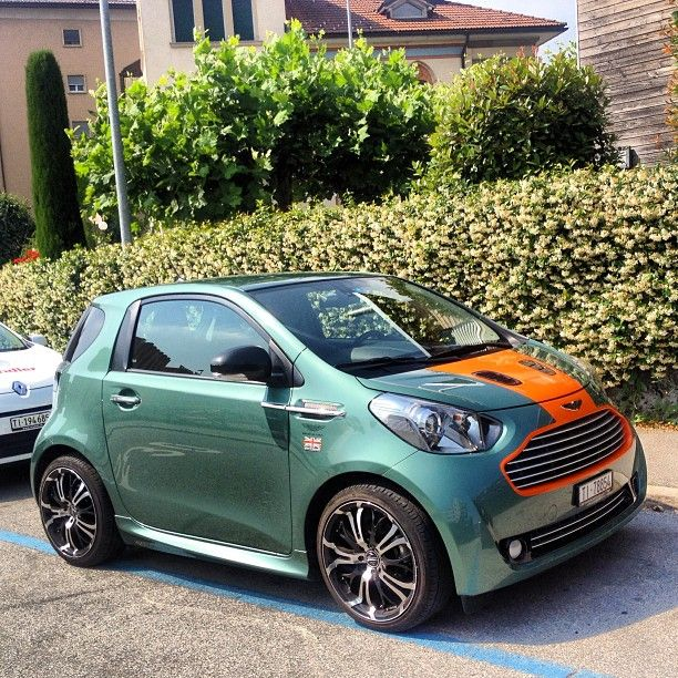 Look At This Aston Martin Cygnet On Carhoots.com