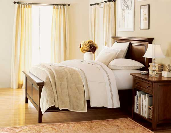 Neutral bedroom with color pop bedroom neutral 1 for Neutral color furniture
