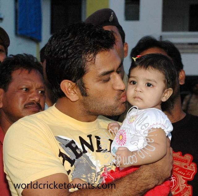 39 best Dhoni and his family images on Pinterest | Cricket ...