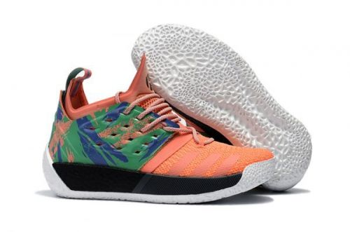 new concept 5112f 897a5 Original adidas Harden Vol. 2 Orange Green For Sale - ishoesdesign