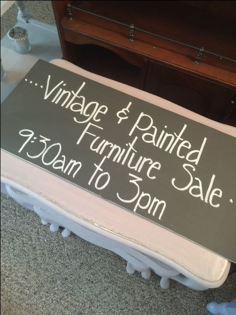 SATURDAY, JUNE 11th 2016 FROM 9:30am UNTIL 3PM - No early Birds please   Tons of VINTAGE, FRENCH COUNTRY CHIC, COTTAGE & FRENCH PROVINCIAL FURNITURE   Console tables  Occasional & End tables  Bedside tables  Coffee tables  Dressers  Frames  Mirrors  Desks  Vanities  China Cabinet  Wrought Iron Antique Bed - Queen Size  Planters & Garden Accessories  Indoor Accessories - Candlesticks, Birdcages, Clocks, Signs, Lamps  Farmhouse style Table  Chairs  Benches  Cabinets  Storage Chest  and much…
