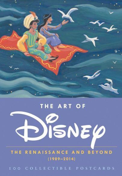 Art of Disney Renaissance & Beyond Postcards 1989 - 2014 : Forbidden Planet