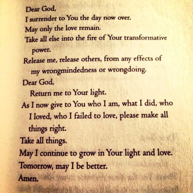 Marianne Williamson prayer