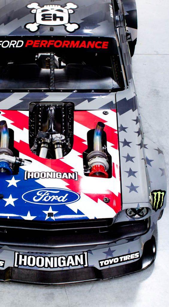 Ken Block's 1,400bhp Hoonicorn Mustang V2