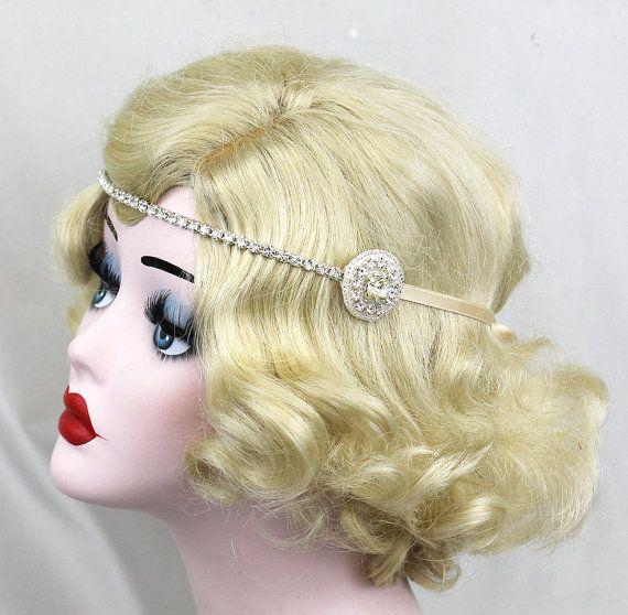 Silver Headband  Wedding Hair Accessory  by BatcakesCouture