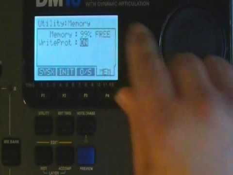 How to set-up the Alesis DM10 with mesh head drums.