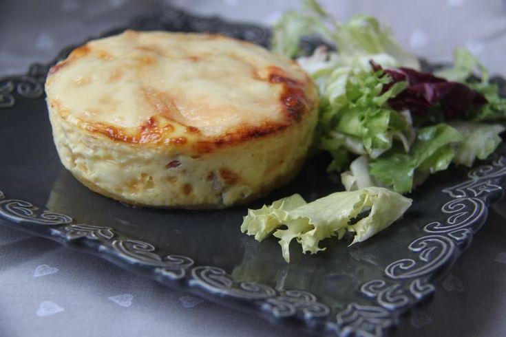 En panne d'inspiration pour un repas du soir ? accompagnées d'une petite salade verte.. ces tartelettes sont un vrai régal ! l'occasion aussi d'utiliser un reste de fromage à raclettes... C'est parti pour la recette.... Ingrédients pour 6 tartelettes...