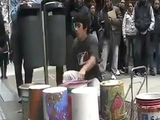 Best Destination Inspiration Images On Pinterest Landscapes - Street drummer uses nothing more than scrap metal to creating amazing techno beats