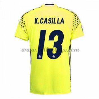 Fotbollströjor Real Madrid 2016-17 Casilla Målvakt Bortatröja