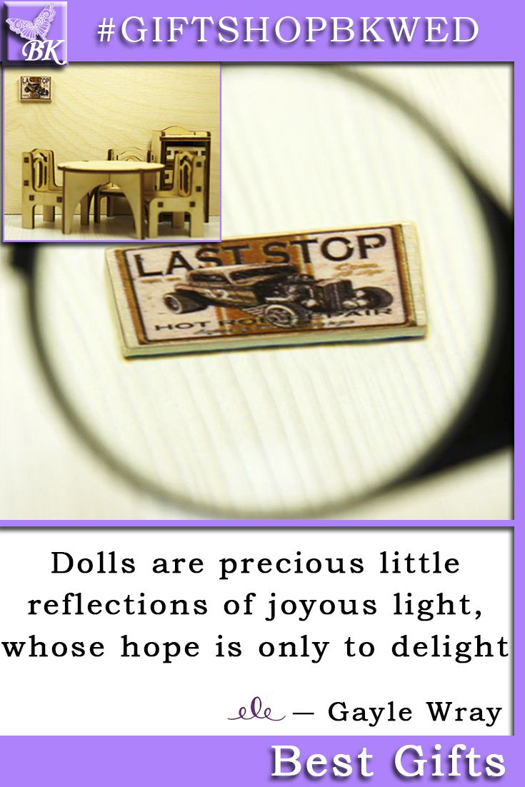 It looks wonderful as a display on a dresser or maybe on a wall It is 1/12 scale reproduction made for dollhouse / miniature. Use birch card as it gives great realism in thickness when considered in scale.  #giftshopbkwed #dollhouse #accessory #gift #wood #wooden #print #accessories