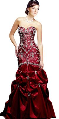 Must have bridal gown for those who love to wear Red Color