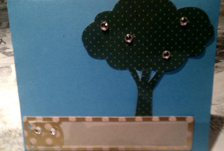 Tarjeta buho, sobre/Owl envelope