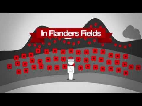 An animated short film about the journey of the #poppy. An excellent introduction to the poppy, #remembrance, #veterans and Poppyscotland.