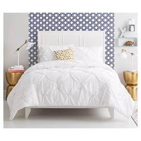 Metallic Stitch Comforter Set White Xhilaration Target Dorm Room Wishl