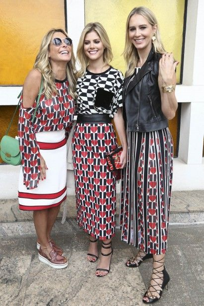 Fernanda Barbosa, Lala Rudge e Ana Claudia no desfile de Reinaldo Lourenço Pinterest: KarinaCamerino